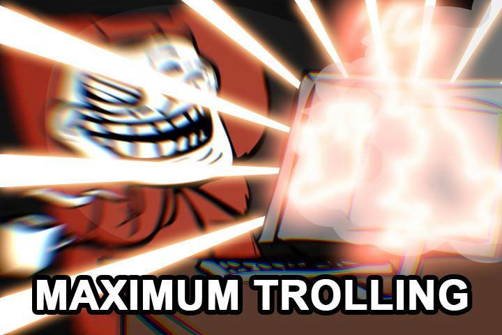 Troll face bailando (gif) + yapa
